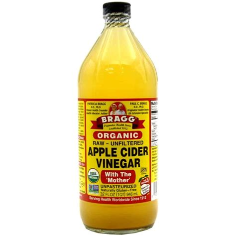 apple cider bragg organic apple cider vinegar