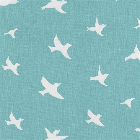 How To Use Duvet Cover Coastal Blue Birds Fabric By The Yard Blue Fabric