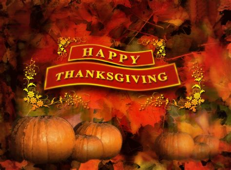 Happy Thanksgiving by Happy Thanksgiving Backgrounds Happy Thanksgiving