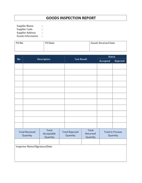Construction Safety Inspection Report Template Construction Inspection Report Form And Construction Site