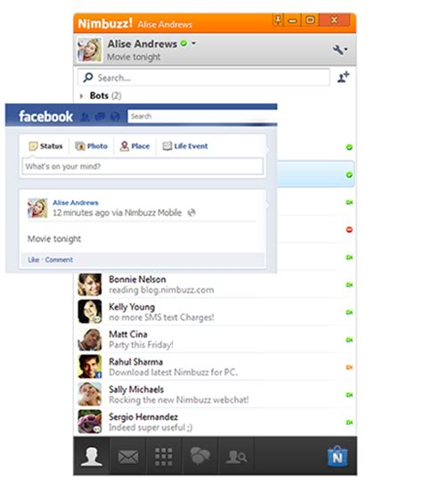 free new nimbuzz pc version 2 4 0 with chat rooms