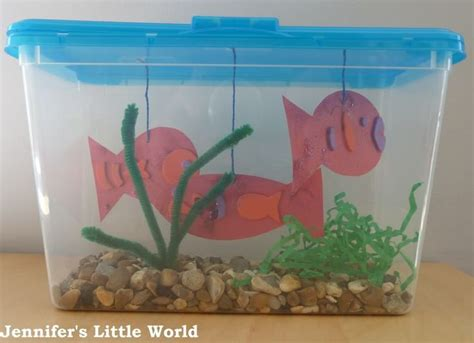 How To Make A Paper Aquarium - 17 best ideas about aquarium craft on
