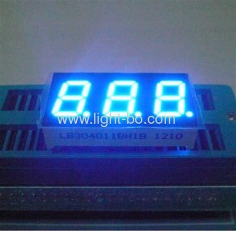 Seven Segment 7 Segment 0 56 0 56 Inchi 0 56 Inchi Common Anoda blue led display 3 digit 0 56 quot blue 7 segment led display from china manufacturer shenzhen