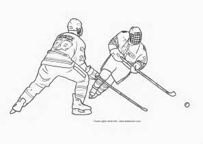 Hockey Coloring Pages Free Hockey Coloring Pages