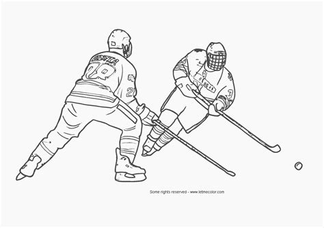 printable coloring pages hockey pin free coloring hockey on pinterest