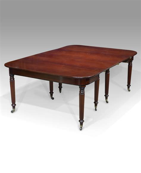 Antique Dining Table Regency Dining Table Small Mahogany Small Mahogany Dining Table