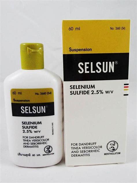 selsun selenium sulfide shoo 60 ml