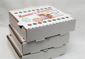 Pizza Box Favor by The Purple Pug Mini Pizza Box Favors