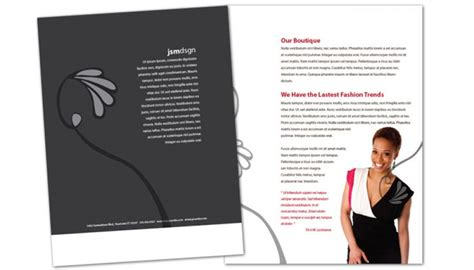boutique flyer template free flyer template for clothing boutique fashion stylist order custom flyer design