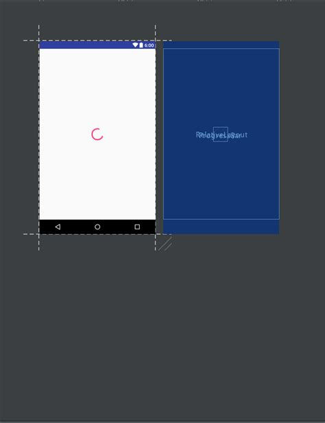 android full screen layout in scroll view stack overflow android how to display full screen progress bar in center