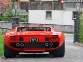 Lamborghini Jota Obscure Auto Lamborghini Miura Jota Svj Mind Motor