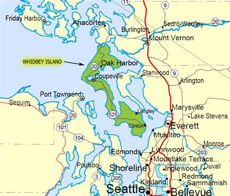 map of whidbey island whidbey island photo gallery whidbey island