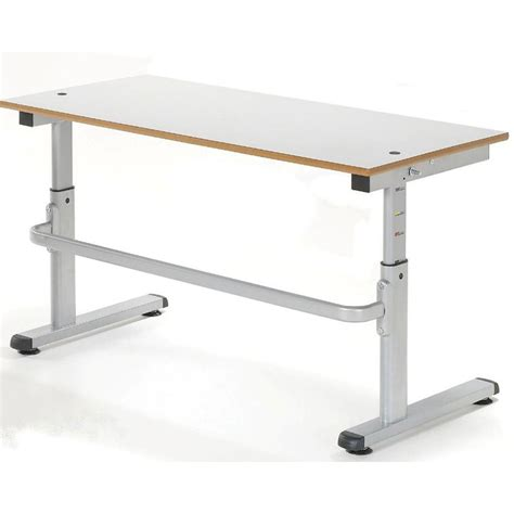 large adjustable height desk height adjustable classroom desk large nstd1200 all