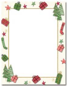 Printable free full page holly letterhead christmas christmas forest