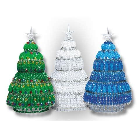 mary maxim beaded safety pin christmas tree kit beaded