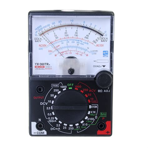 Voltmeter Ac Analog yx 360trn analog multimeter digital ac dc voltmeter