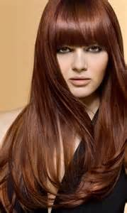 the medium copper brown hair color best medium hairstyle