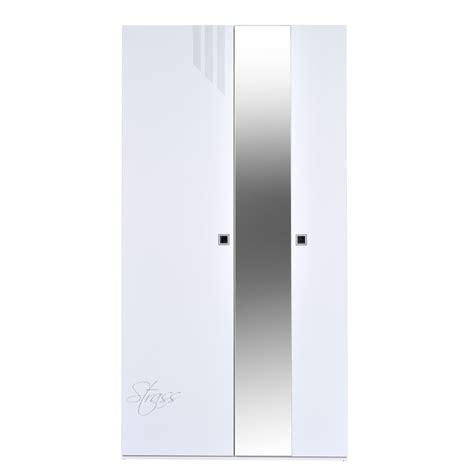 kleiderschrank weiß hochglanz mit spiegel kleiderschrank salerno wei 223 hochglanz mit spiegel