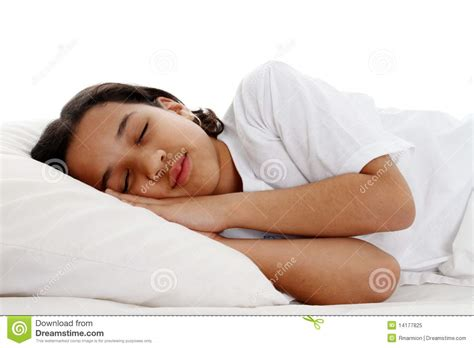 Sleeping With No Pillow by Sleeping Royalty Free Stock Photo Image 14177825