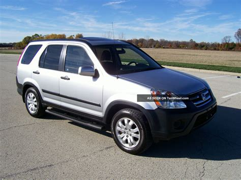 2006 honda crv 2006 honda cr v ex 4wd loaded ex awd crv make offer