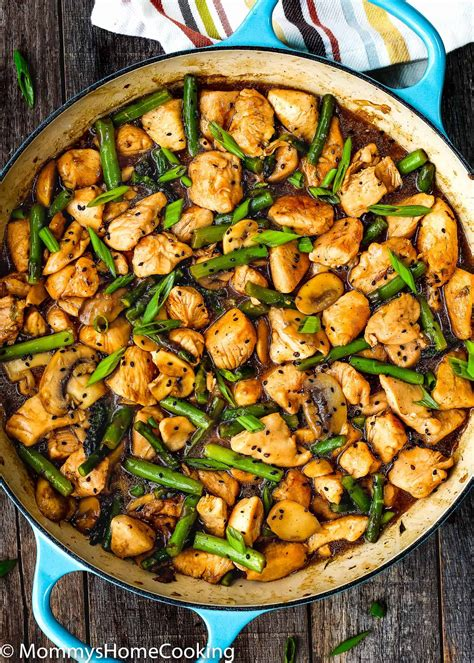 easy healthy chicken and asparagus skillet mommy s home