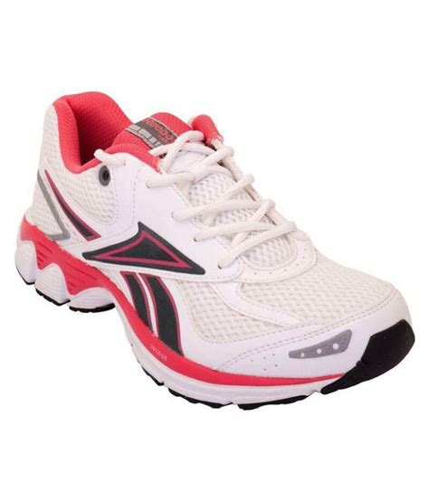 reebok white running sports shoes price in india buy