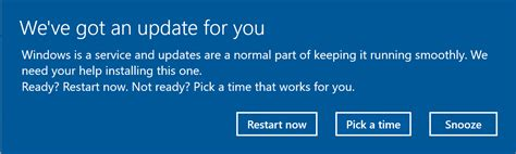 the windows 10 upgrade notification turn on or off windows update restart notifications in