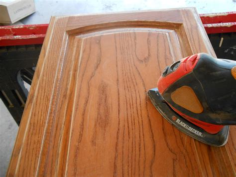 How Much To Refinish Kitchen Cabinets by Using Chalk Paint For Oak Kitchen Cabinets Test Door