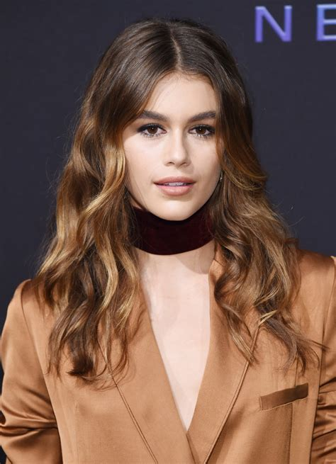 hairstyles party jordan kaia gerber photos photos maybelline new york nyfw kick