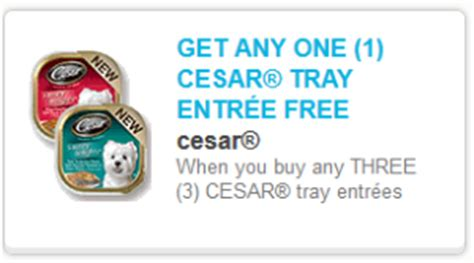 dog food coupons for walmart buy 3 get 1 free cesar dog food coupon walmart scenario