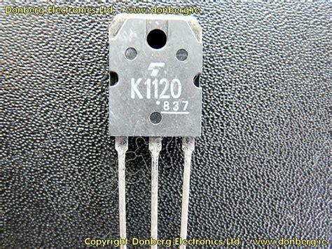 katalog transistor fet halbleiter 2sk1120 2sk 1120 n kanal fet transistor