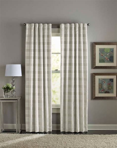 Window Panel Curtains 108 Inch Curtains Decor Grey 108 Inch Curtains With Panel For Minimalist Living Room Decor