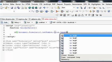 www compensar com con formularios validar formularios html con javascript youtube