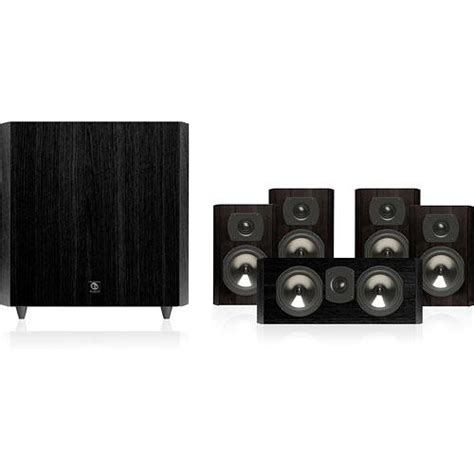 boston acoustics cs2310b 5 1 channel home theater cs2310b b h