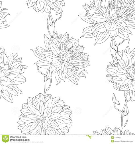 hand drawn wallpaper hand drawn floral wallpaper stock photos image 23359053