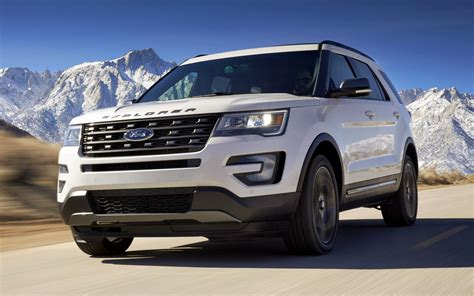 Sports Car Wallpaper 2017 Trailer by Ford Explorer Xlt Sport Appearance Package 2017
