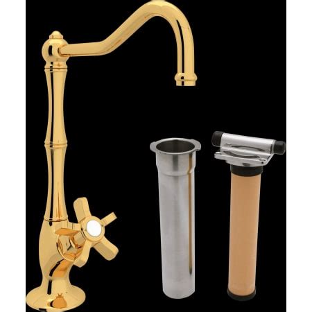 rohl akit1435 country kitchen filter faucet kit with rohl akit1435xib 2 inca brass country kitchen filter