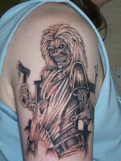 eddie tattoo iron maiden killers www imgkid the image