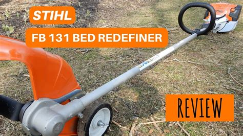 bed redefiner stihl fb131 bed redefiner youtube