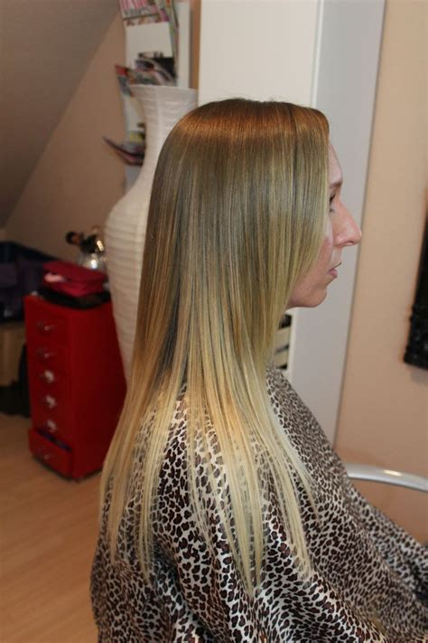 light brown and platinum blonde ombre hair light brown to blonde ombre hair pinterest