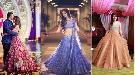 reception dresses lehenga designs for indian bride to be   youtube