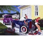 Tree Mechanic 32 Ford Hot Rod Highboy Roadster Flathead 1940