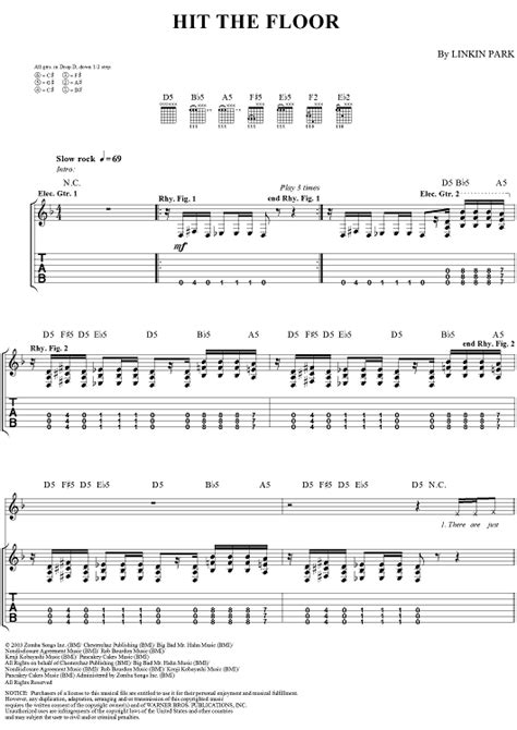 top 28 hit the floor linkin park tab numb piano version guitar pro tab by linkin park
