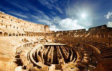 colosseo interno anfiteatro flavio colosseo capitolivm