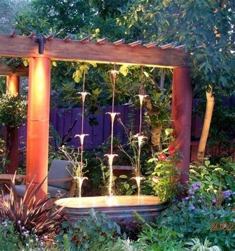 Backyard Garden Decor Backyard Waterfalls And Ponds To Beautify Your Outdoor Decor