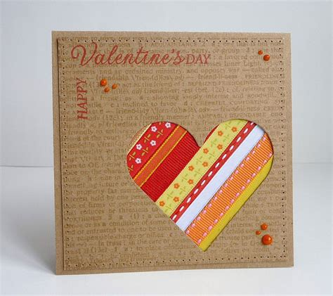 Valentines Handmade - 25 happy valentine s day cards lovely ideas for