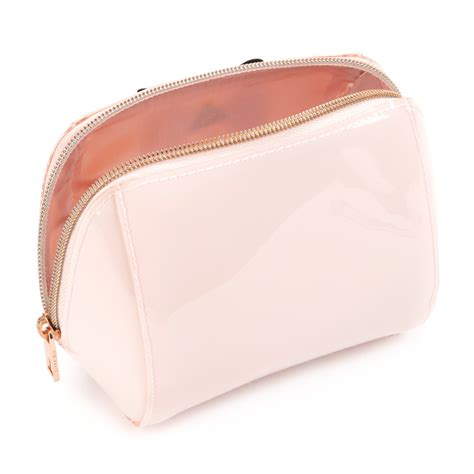 Bow Cosmetic Bag lyst ted baker denty bow makeup bag in pink