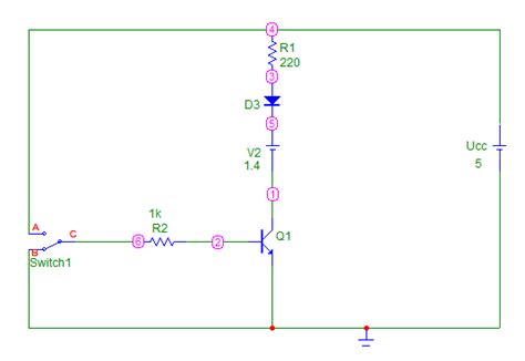 el transistor bipolar como interruptor 1 simulacion con el micro cap bjt como interruptor ingen cajael
