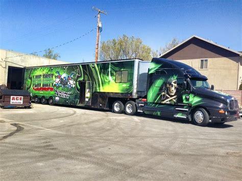 truck cer awnings for sale semi hauler w full awning 2 loors pro 4 trucks part