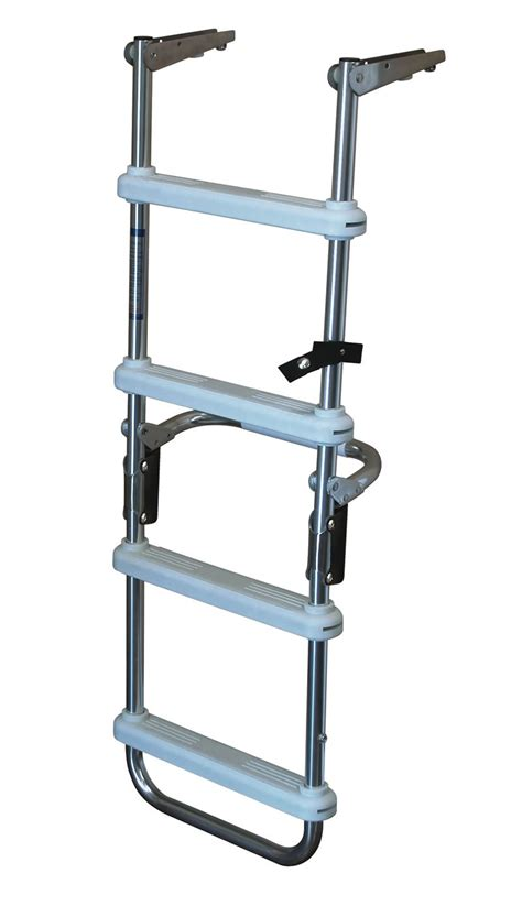 pontoon steps 4 step folding pontoon deck ladders 4 step folding